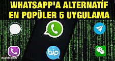 Whatsapp'a alternatif en popüler 5 uygulama